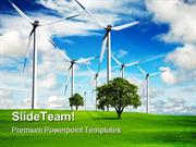 Power And Ecology Nature Tehnology PowerPoint Templates And PowerPoint