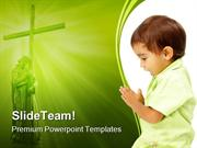 Prayer Religion PowerPoint Templates And PowerPoint Backgrounds pgraph