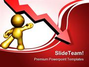 Presenting Down Turn Arrow Business PowerPoint Templates And PowerPoin