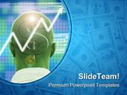 Profitable Brain Money PowerPoint Templates And PowerPoint Backgrounds