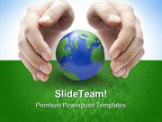 Protect The Earth Geographical PowerPoint Templates And PowerPoint Bac