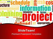 Project Management Business PowerPoint Templates And PowerPoint Backgr