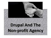 Drupal And The Non Profit Agency