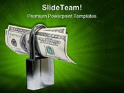 Protect US Dollar Security PowerPoint Templates And PowerPoint Backgro