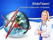 Pulse Of The World Medical PowerPoint Templates And PowerPoint Backgro