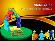 Puzzle House Architecture PowerPoint Themes And PowerPoint Slides ppt