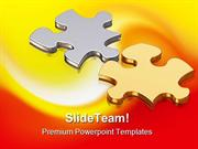 Puzzle Pieces Business PowerPoint Templates And PowerPoint Backgrounds