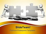 Puzzles Building Business PowerPoint Templates And PowerPoint Backgrou