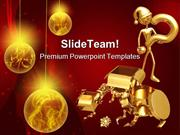 Question For Gift Christmas PowerPoint Templates And PowerPoint Backgr