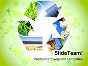 Recycle Nature PowerPoint Templates And PowerPoint Backgrounds ppt the