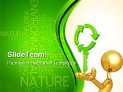 Recycling Key Nature PowerPoint Templates And PowerPoint Backgrounds 0