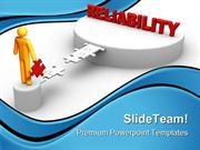 Reliability Business PowerPoint Templates And PowerPoint Backgrounds 0