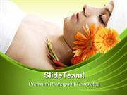 Resting In Spa Beauty PowerPoint Templates And PowerPoint Backgrounds