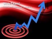 Rising Stocks Marketing PowerPoint Templates And PowerPoint Background