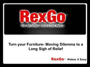 Turn your Furniture- Moving Dilemma to a Long Sigh of Relief
