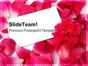 Rose Petals Beauty PowerPoint Templates And PowerPoint Backgrounds ppt
