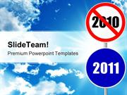 Round Sign New Year Future PowerPoint Templates And PowerPoint Backgro