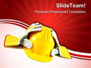 Safety Construction PowerPoint Templates And PowerPoint Backgrounds pp