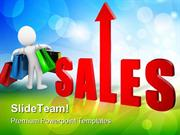 Sales Rises Business PowerPoint Templates And PowerPoint Backgrounds p