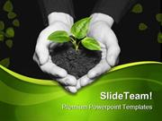 Save Plant Nature PowerPoint Templates And PowerPoint Backgrounds ppt