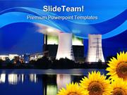 Save The Nature Industrial PowerPoint Templates And PowerPoint Backgro