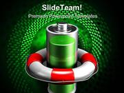 Saving Battery Power Technology PowerPoint Themes And PowerPoint Slide