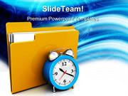 Scheduling Folder Security PowerPoint Templates And PowerPoint Backgro