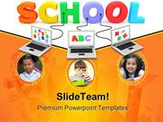 School Children Education PowerPoint Templates And PowerPoint Backgrou