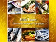 Seafood Health PowerPoint Templates And PowerPoint Backgrounds ppt the