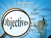 Search Objectives Business PowerPoint Templates And PowerPoint Backgro