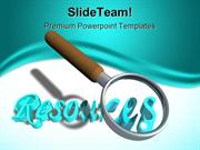Search Resources Business PowerPoint Templates And PowerPoint Backgrou