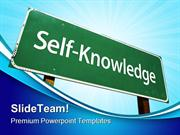 Self Knowledge Education PowerPoint Templates And PowerPoint Backgroun