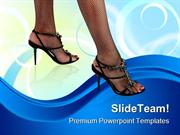 Sexy Feet01 Lifestyle PowerPoint Templates And PowerPoint Backgrounds