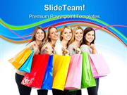 Shopping Women Sales PowerPoint Templates And PowerPoint Backgrounds p