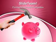 Smashing PiggyBank Future PowerPoint Templates And PowerPoint Backgrou