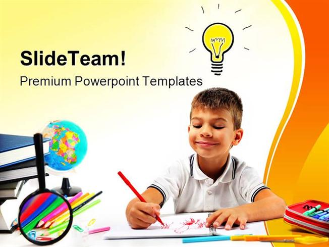 Smiling child having an idea education powerpoint templates and po smiling child having an idea education powerpoint templates and po authorstream toneelgroepblik Choice Image