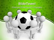 Soccer Uniting The People Sports PowerPoint Templates And PowerPoint B