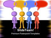 Social Media Cmmunicaion People PowerPoint Templates And PowerPoint Ba