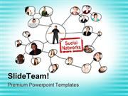 Social Networks Business PowerPoint Templates And PowerPoint Backgroun