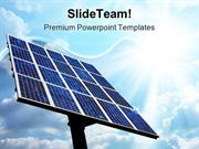 Solar Power Panel Technology PowerPoint Templates And PowerPoint Backg