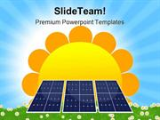Solar Panel Geographical PowerPoint Templates And PowerPoint Backgroun