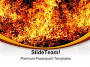Solid Fire Religion PowerPoint Templates And PowerPoint Backgrounds pg