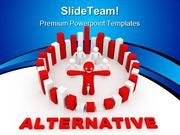 Solution Alternative Concept Business PowerPoint Templates And PowerPo