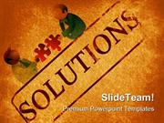 Solutions Background PowerPoint Templates And PowerPoint Backgrounds p