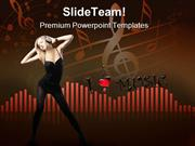 Sound Music PowerPoint Templates And PowerPoint Backgrounds ppt themes