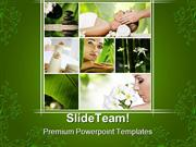 Spa Collage Health PowerPoint Templates And PowerPoint Backgrounds pgr