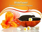 Spa And Wellness Nature PowerPoint Templates And PowerPoint Background
