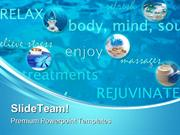 Spa For Beauty Lifestyle PowerPoint Templates And PowerPoint Backgroun