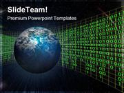 Space Globe PowerPoint Templates And PowerPoint Backgrounds ppt design