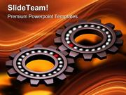 Special Gears Industrial PowerPoint Templates And PowerPoint Backgroun